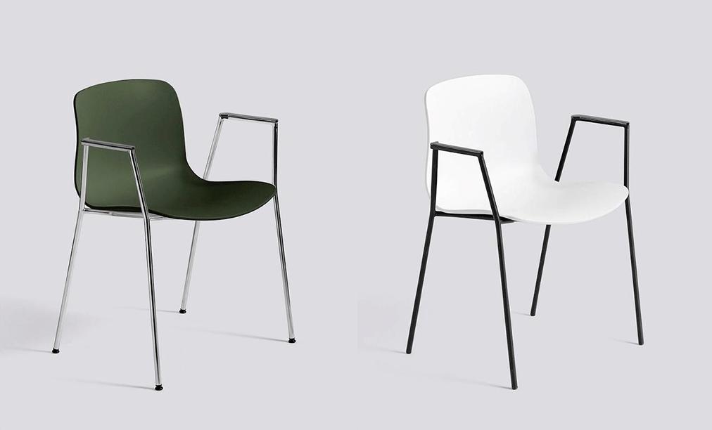 Krzesła Hay poliwęglan