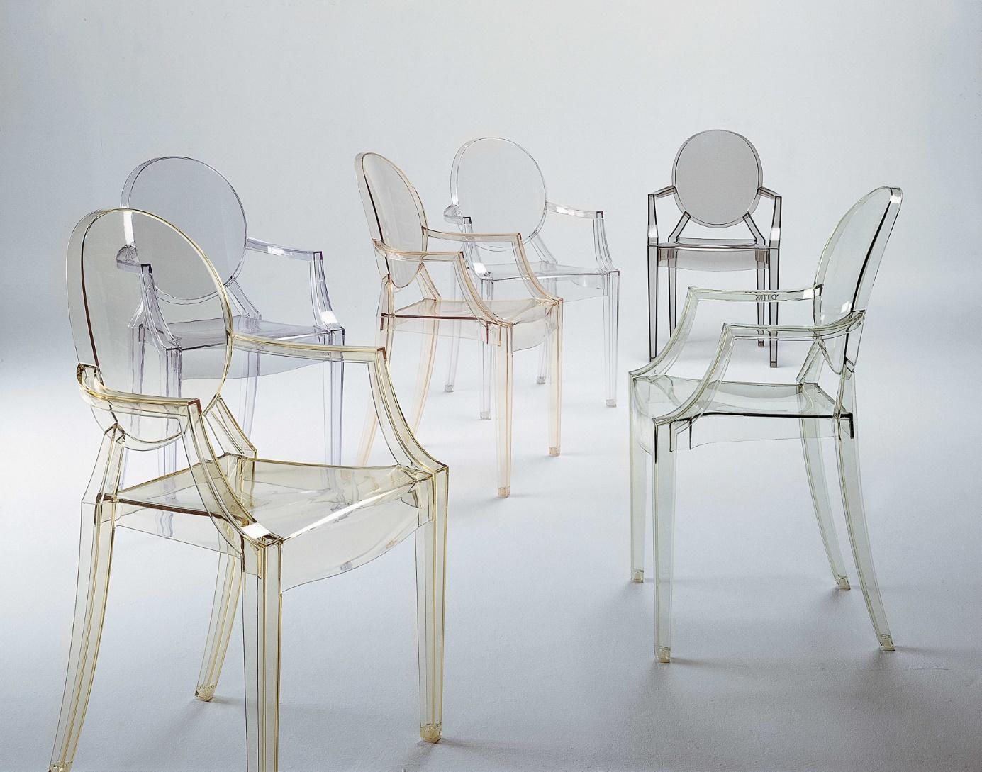 Krzesła Kartell Ghost Louis
