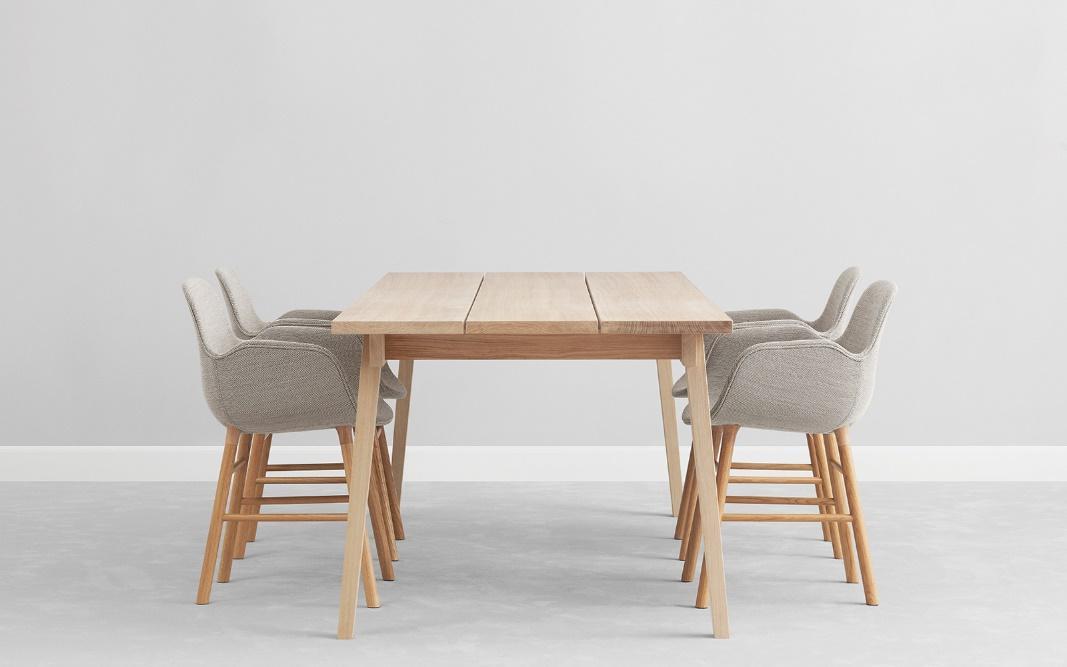 Krzesła tapicerowane Normann Copenhagen