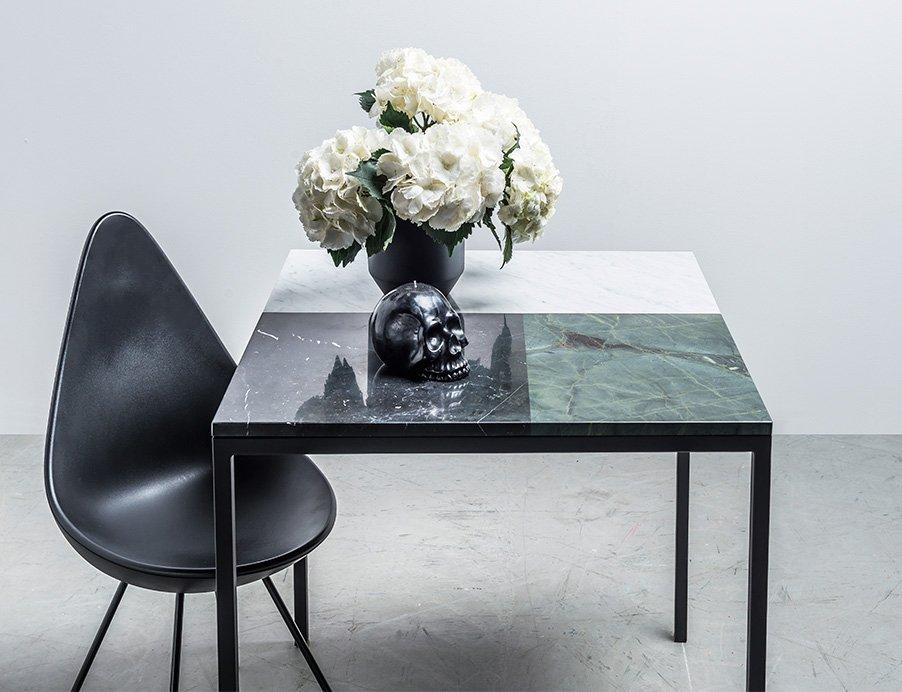 Nowoczesny stół z marmuru od Hoom - Stół Margaret