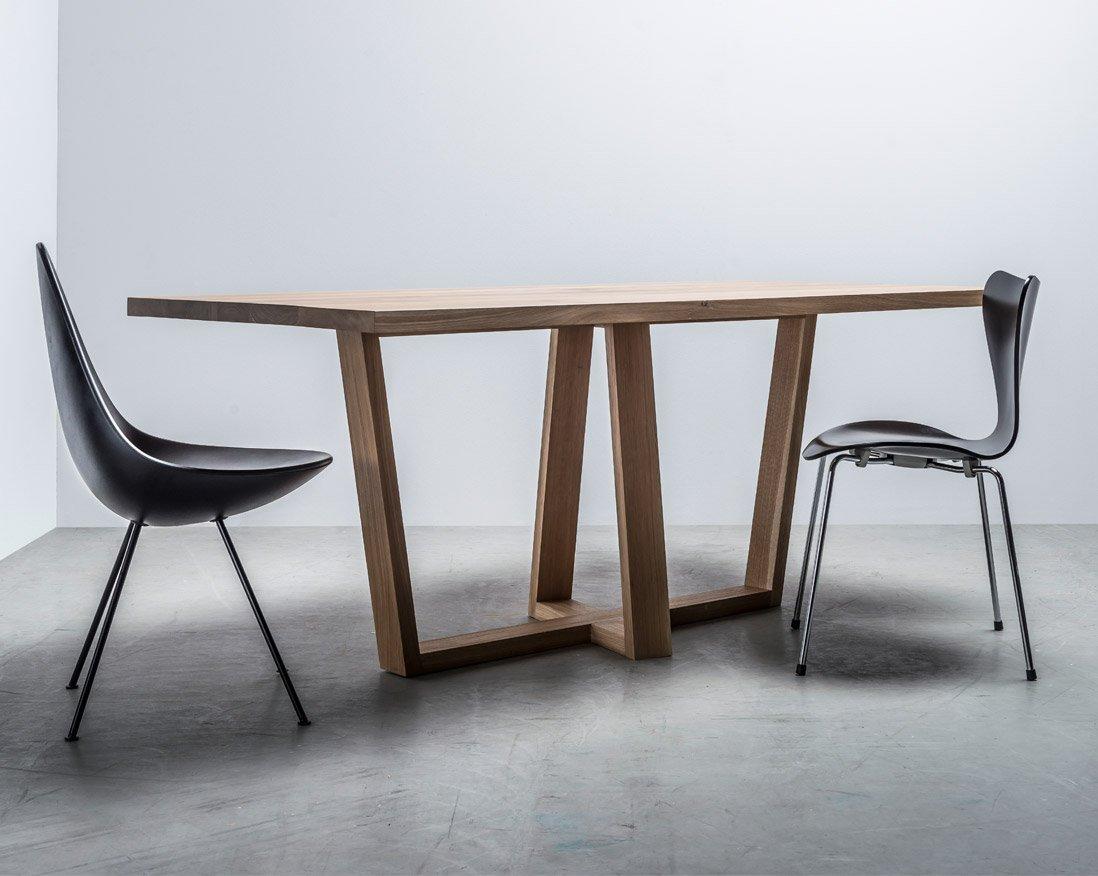 Scandinavian handmade dining table - Diamond from Hoom