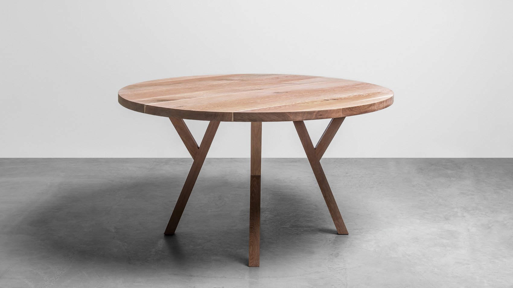 Okrągły stół z drewna dębowego - Stół Gloria od Hoom