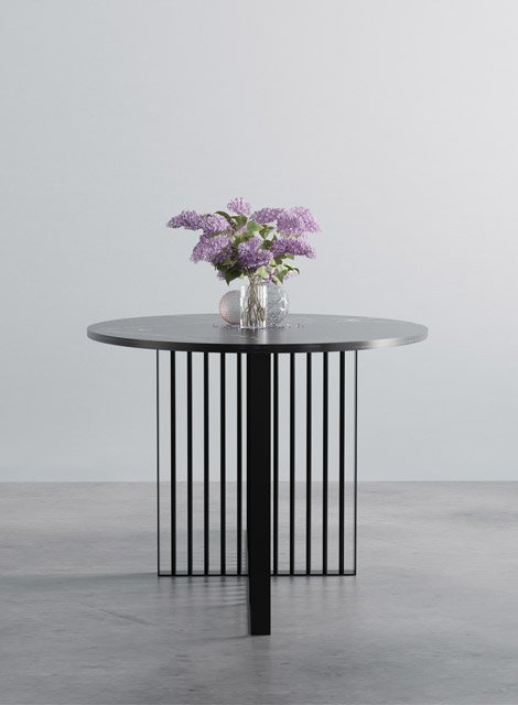 Marble dining table from Hoom.co