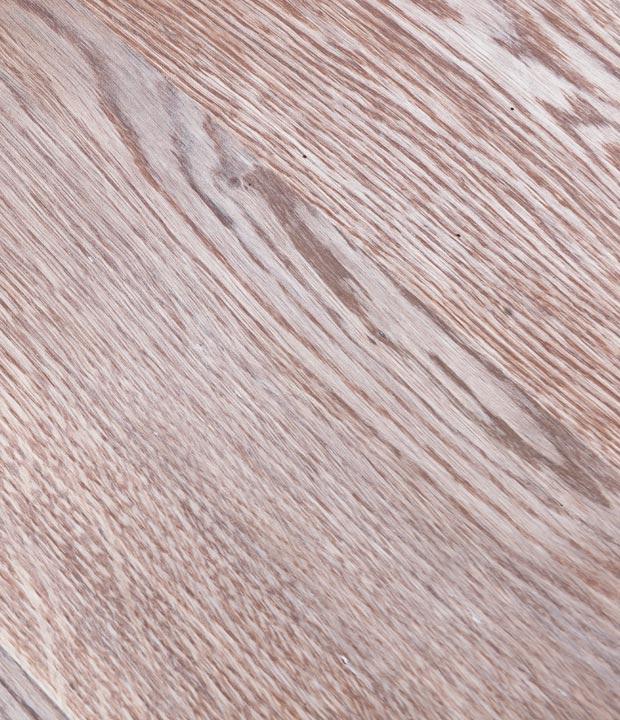 olejowane drewno dębowe na okrągłym stole od Hoom