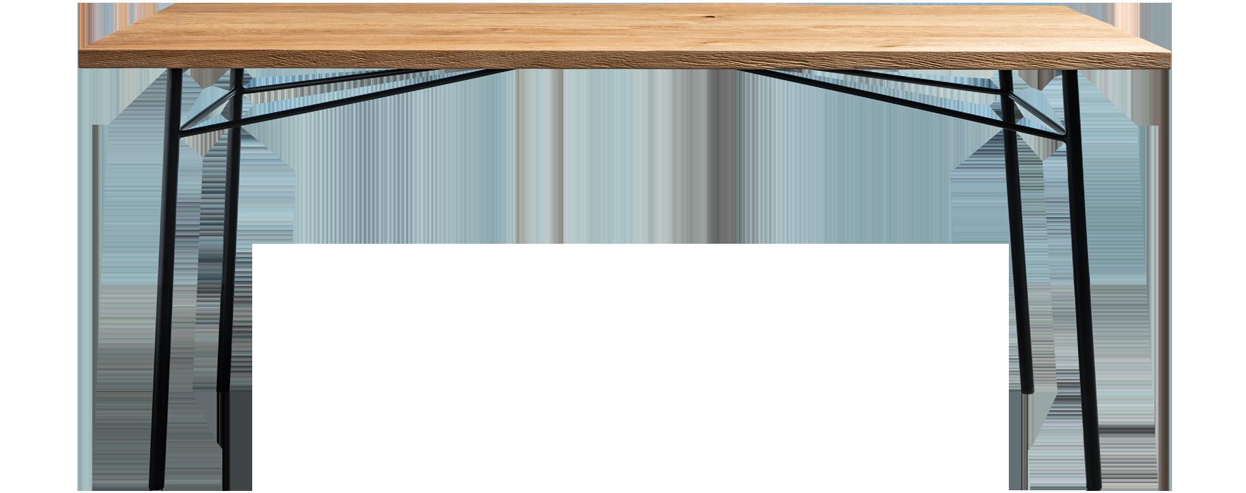 stol z postarzanym blatem -stol Martin od Hoom