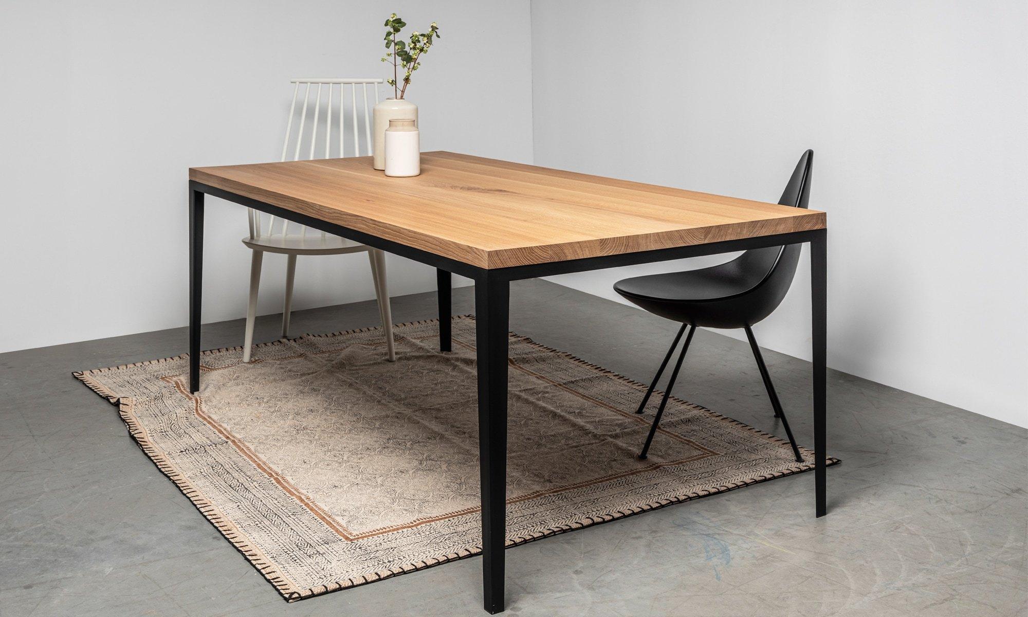 prosty debowy stol od hoom