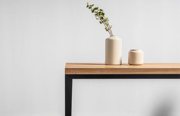 stol debowy na czerech nogach od hoom