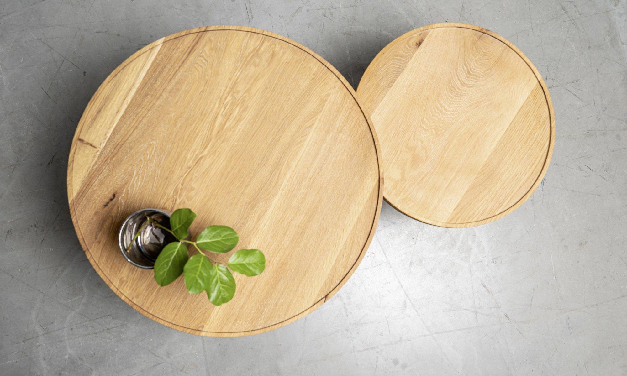 oragly postarzany stolik kawowy
