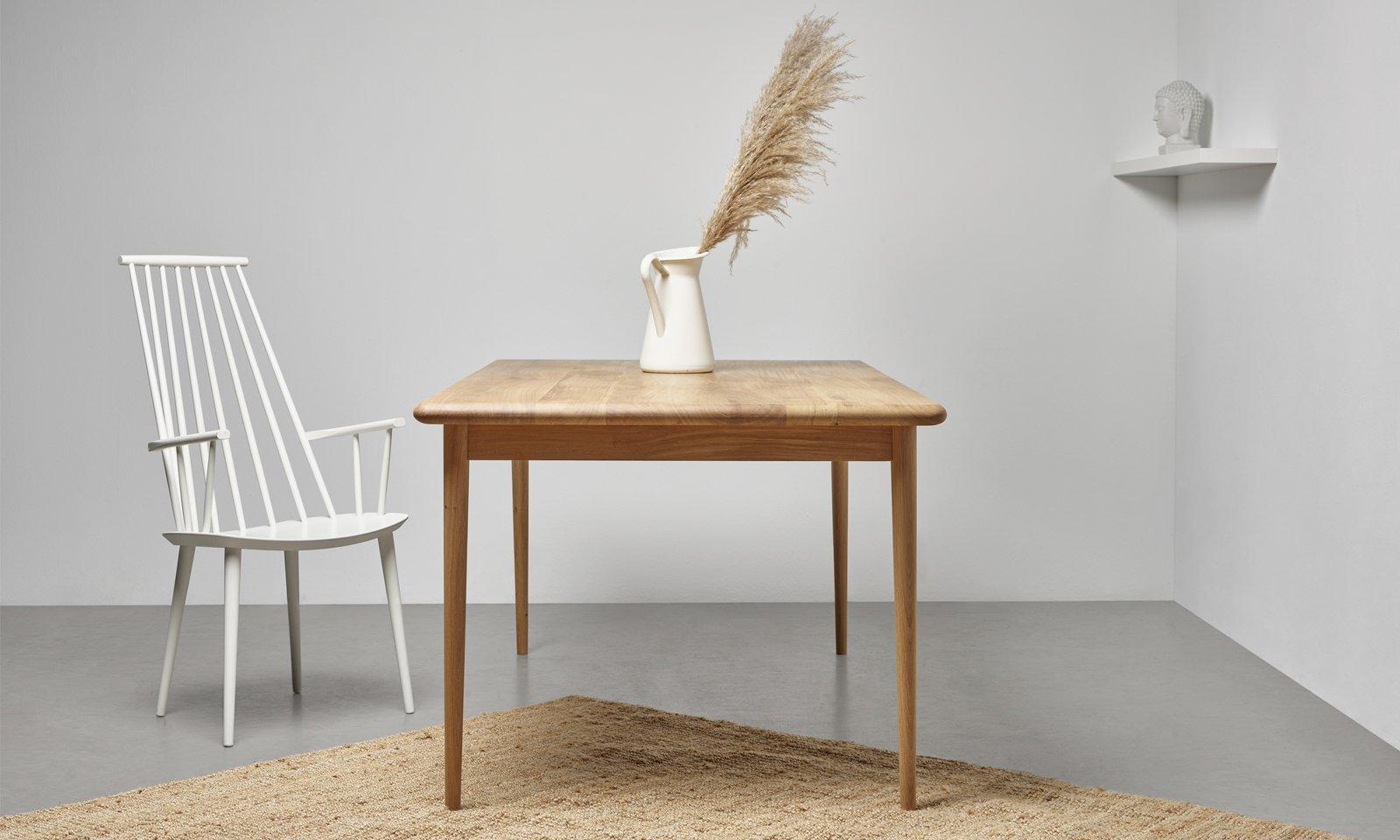 debowy stol z litego drewna od hoom